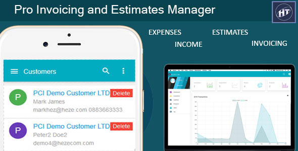 Products Hezecom Web Development Mobile Application Custom - Invoices and estimates pro free download